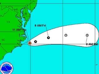 New advisory for Tropical Depression Bonnie