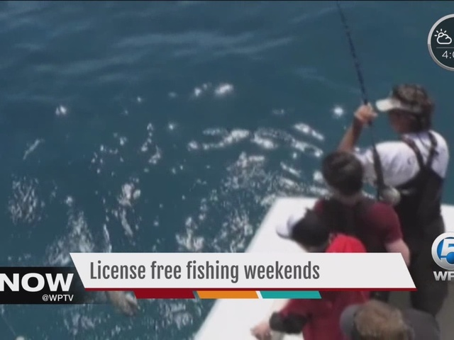 2 florida license free fishing weekends in june for Florida fishing license price