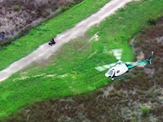 Police catch ATV rider after off-road pursuit