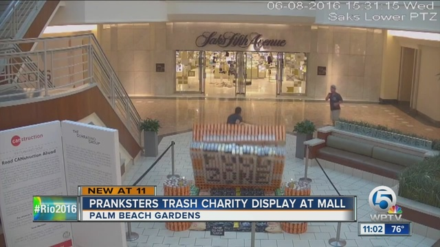 Gardens Mall Seeking Information On Two Men Who Destroyed