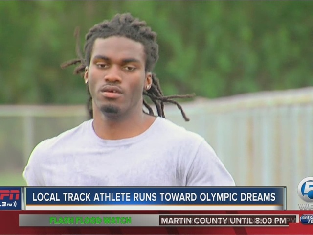 Local track athlete Bryan Jasmin looks to qualify for 2016 Summer Olympics