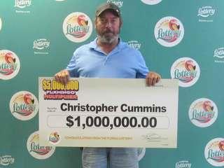 Okeechobee man cashes in on $1M scratch off