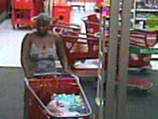 Woman sought in Target perfume thefts