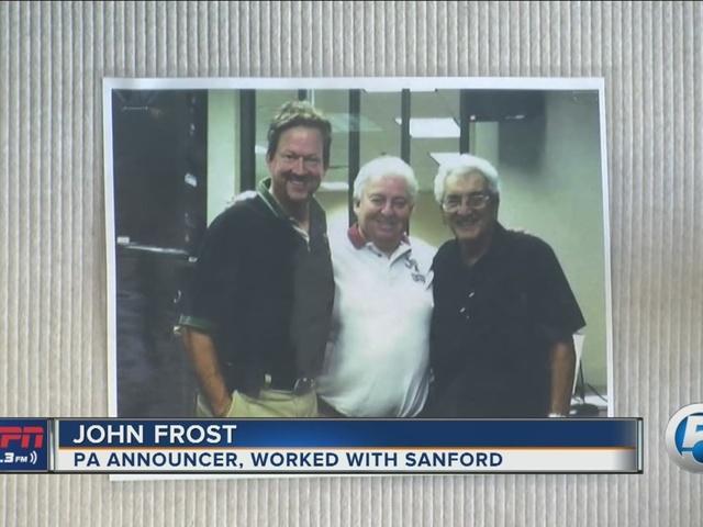 Former WPTV sportscaster and baseball PA announcer Dick Sanford remembered