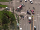 2 children hurt in Forest Hill Boulevard crash