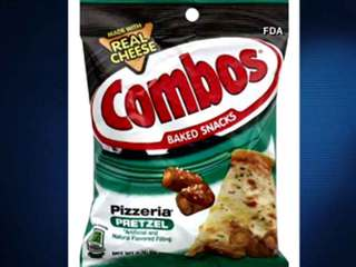 Combos snacks recalled by Mars