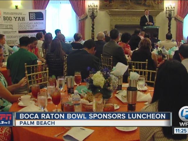 Boca Raton Bowl Sponsors Luncheon