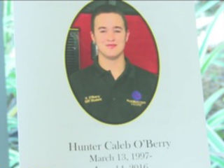 Funeral held for fire captain's son