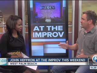 John Heffron at Palm Beach Improv this weekend