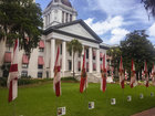 49 flags for 49 days honor club shooting victims