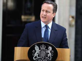 British Prime Minister David Cameron to resign