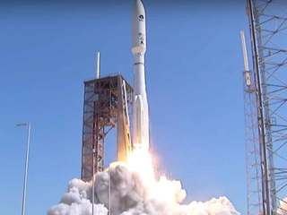 Atlas V rocket blasts off from Cape Canaveral