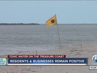 Algae warnings at three Martin County beaches