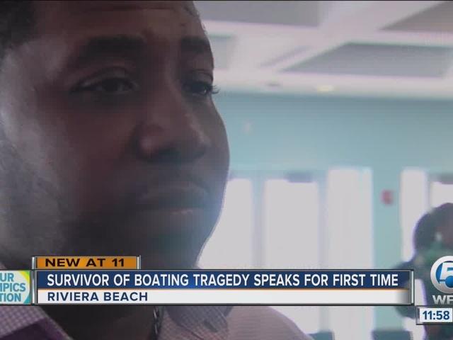 Survivor of boating tragedy speaks at reef dedication