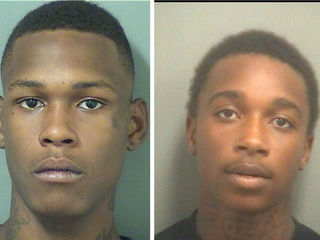 Police arrest two armed carjacking suspects