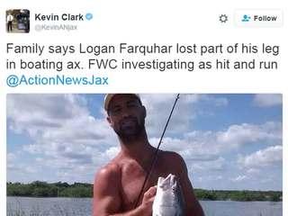 Florida man loses leg in boating hit-and-run