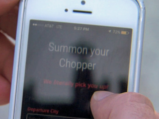New service is like 'Uber' of helicopters