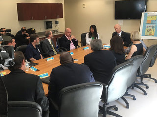 Gov. Scott in Palm Beach Co. for Zika meeting