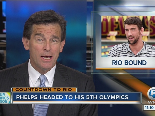 Michael Phelps qualifies for fifth Olympic Games during the U.S. Olympic trials