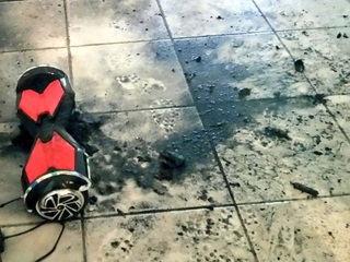 'Hoverboard' catches fire in Broward County