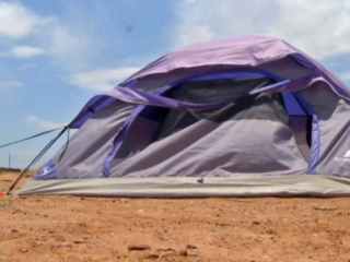 Teenager forced to live in tent as punishment