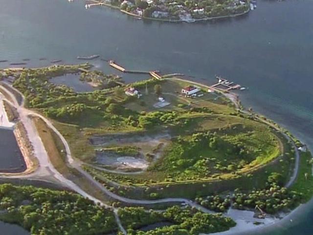 No Swim advisory at Peanut Island due to algae