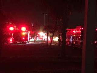 Fireworks blamed for at least 2 overnight fires