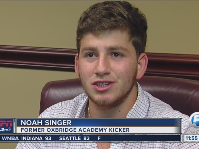 Noah Singer gives up football scholarship to study abroad in China