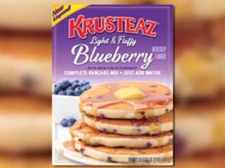 Blueberry pancake mix recalled