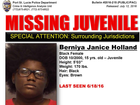 Missing juvenile alert in Port St. Lucie