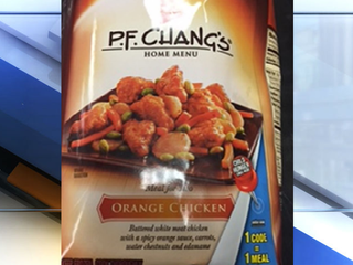 P.F. Chang's home menu brand meals recalled