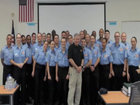 Police academy graduate's passion still strong