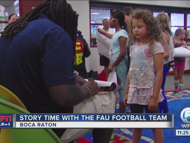 Story Time With The FAU Football Team