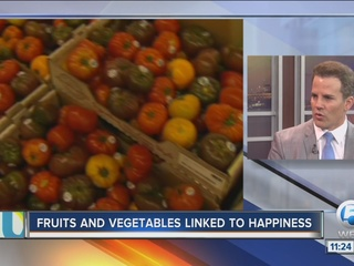 Dr. Soria: Fruits, veggies linked to happiness