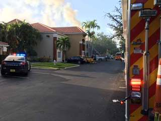 4 families displaced by Boca Raton hotel fire
