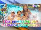 Waterpark free to Martin Co. residents Wednesday