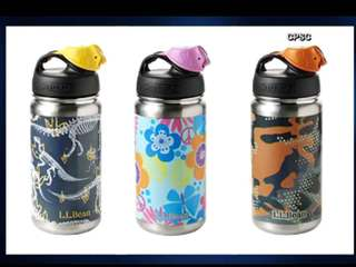 Kids' water bottles recalled for lead