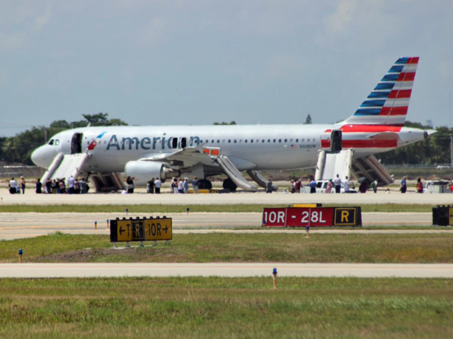 An Incident With American Airlines Flight 1822 Is Being Investigated At Palm Beach International Airport