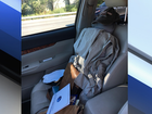 Driver ticketed for using dummy passenger