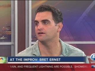 Bret Ernst at the Palm Beach Improv