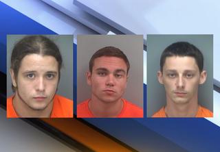 3 Fla. men arrested for child abuse, hate crime