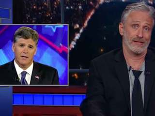 VIDEO: Jon Stewart takes on Trump, Fox News