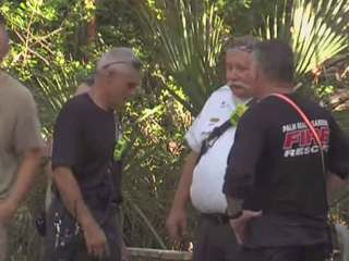 Swimmer rescued at MacArthur Beach State Park