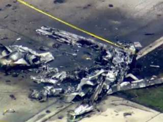 PHOTOS: Plane crash has ties to Palm Beach Co.