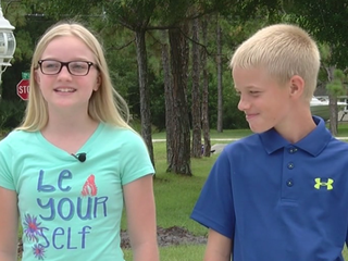 Local siblings raise money for law enforcement