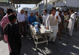 US commander condemns Afghan bomb attack