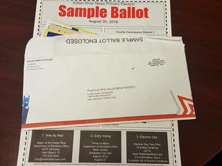 Misleading sample ballot sent in Indian River