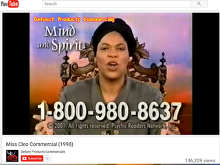 TV psychic Miss Cleo dies in Palm Beach County