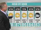 Hazy, hot and humid the next few days