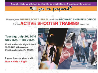 Learn what to do if an active shooter strikes